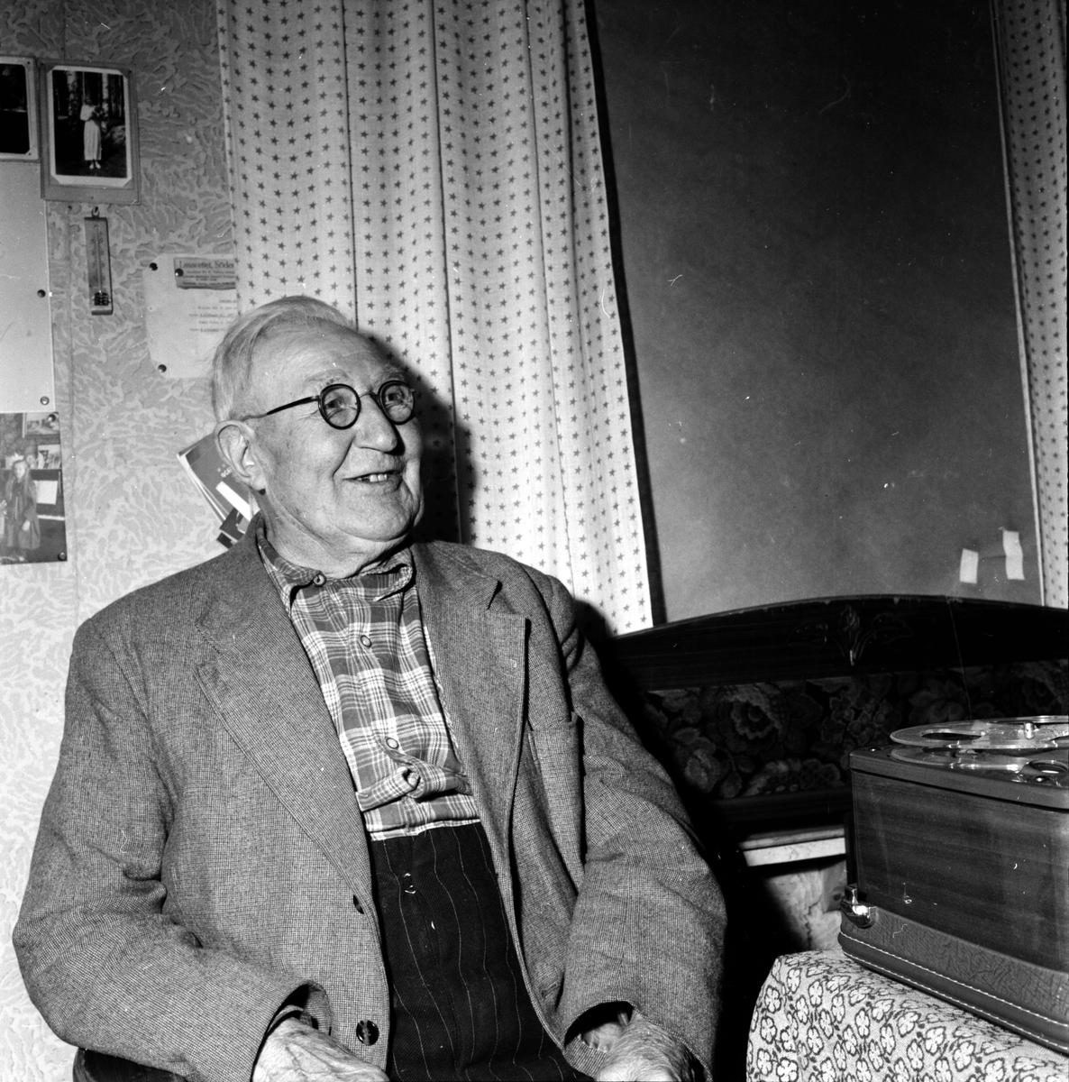 Bergvik, Inspeln. av gamla, Bergström,Åström,Jonsson,Georg Spaak,Andersson, 9 Nov 1957