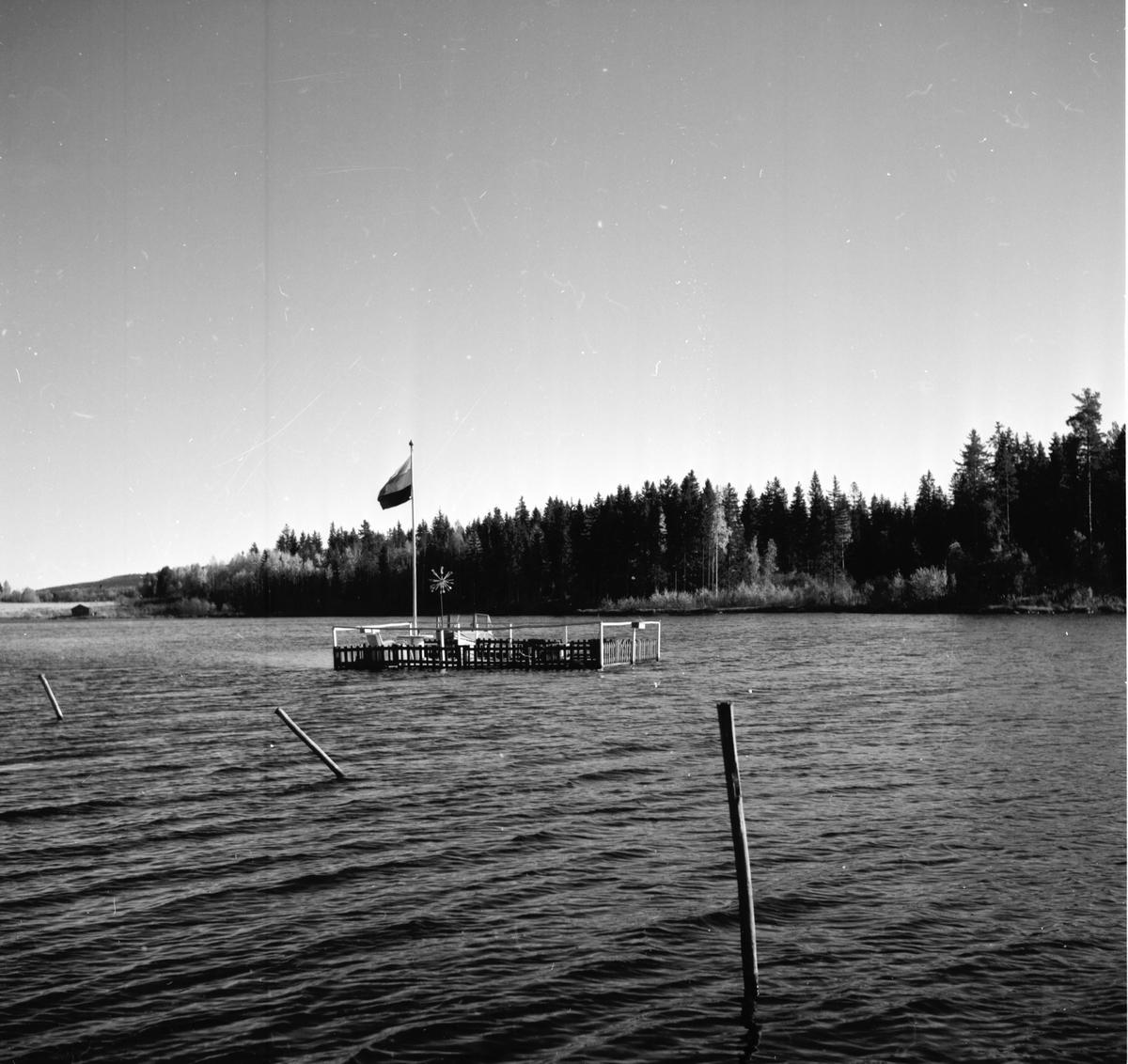 Gösta Snoddas Nordgren. Vid torpet i Sjörgrå. 11/10 1965