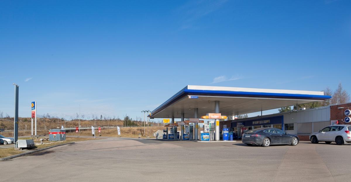 Statoil bensinstasjon Industrivegen Dal Eidsvoll. Ved E6 nordgående side.