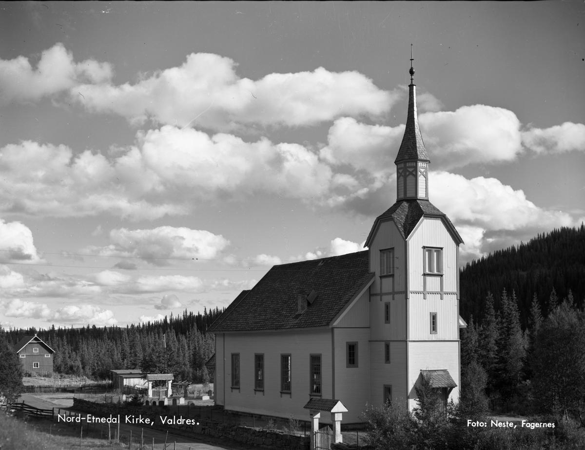 Nord-Etnedal kirke.