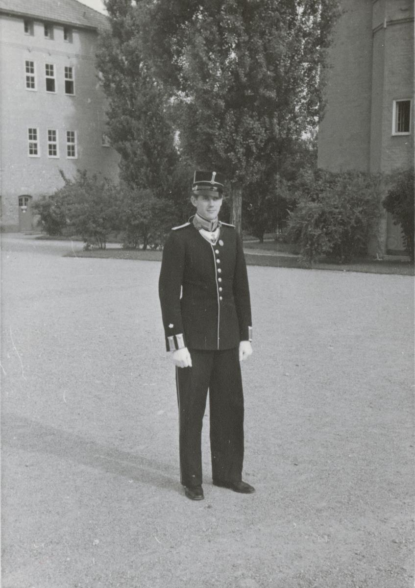 Fänrik Ebbe Bring från Södermanlands regemente I 10.
