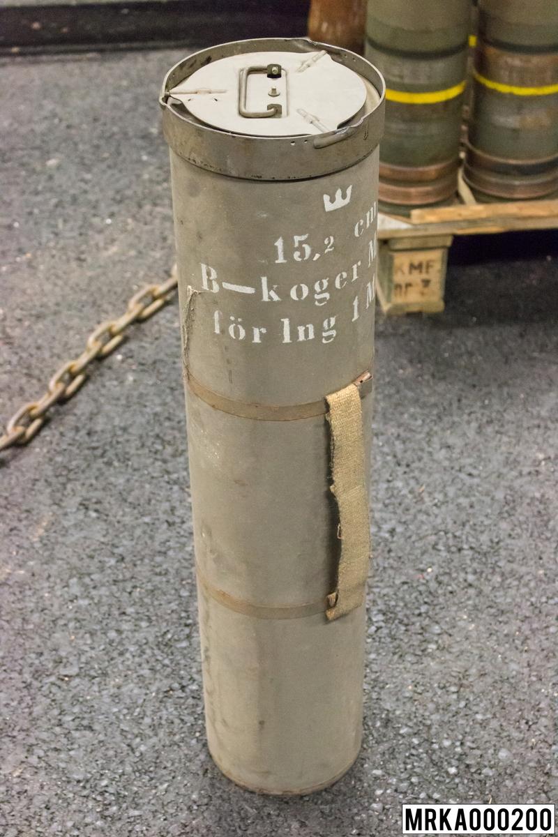 15,2 cm kanon m/37 B-koger m/50 för laddning 1 m/37