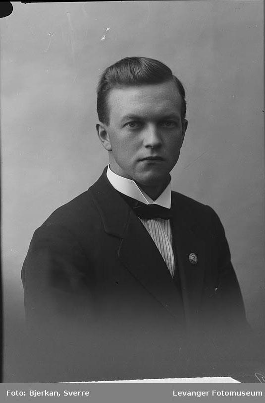 Portrett Ole Solberg.