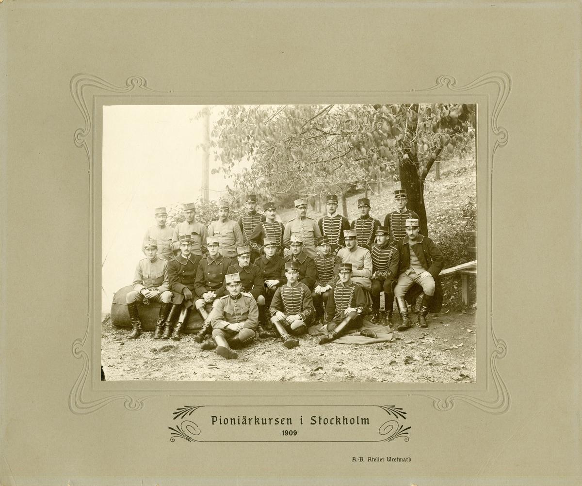 Pionjärkursen i Stockholm 1909.