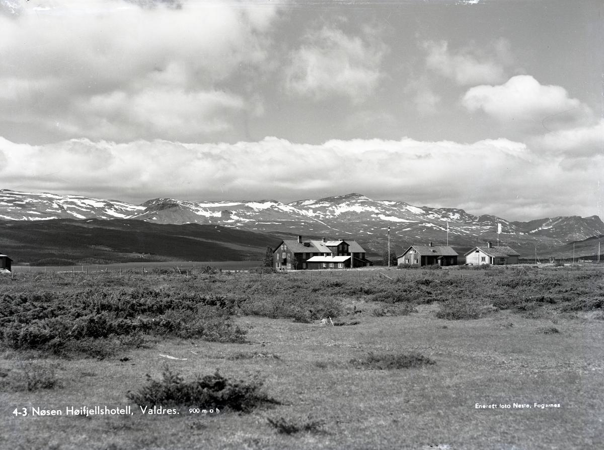 Nøsen høyfjellshotell, Valdres.