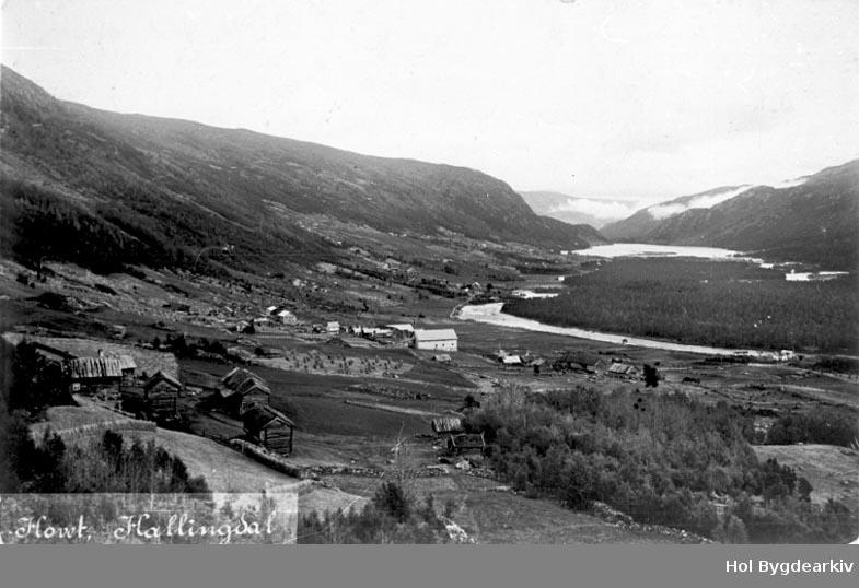 Tettstad, sør Hovet, Berg, Krullen, Storåne, Hovsfjorden, postkort, gardsbruk, grend