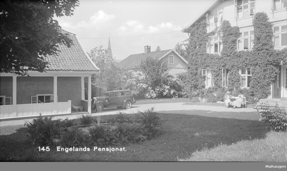 Engelands pensjonat i Mathisensgate.