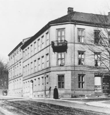Wessels gate 15, ca. 1900. Foto/Photo