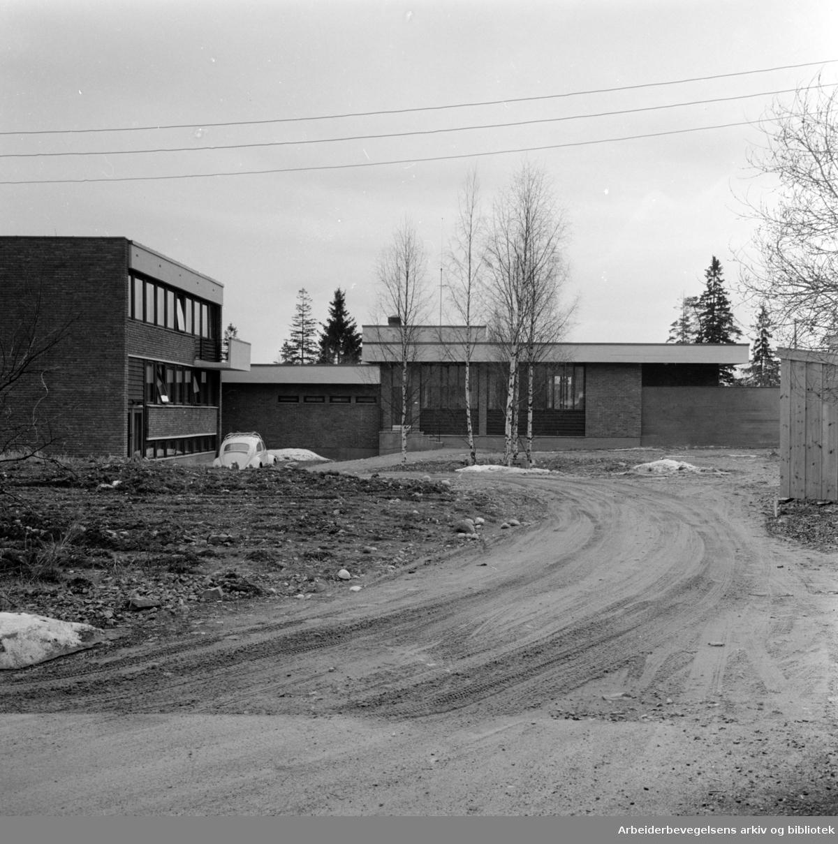 Sogn: Observasjonshjem for ungdom. April 1963