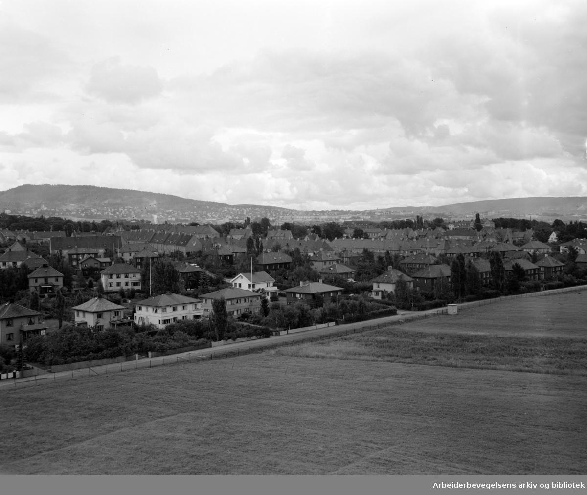 Ullevål Hageby. September 1951