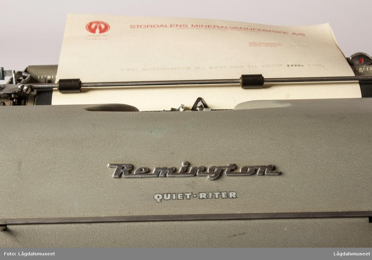 Remington skrivemaskin
