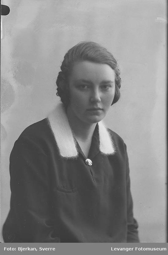 Portrett av Borghild Stavrum