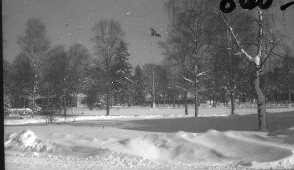 Vinterbilder från Skillingaryds läger.