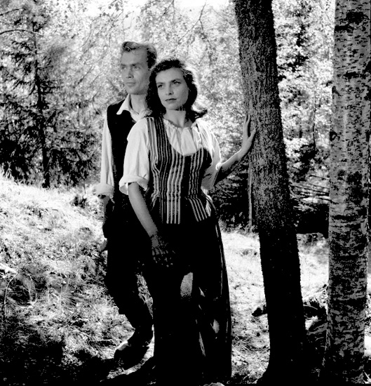 """Inspelning av filmen """"Finnskogens folk"""""""