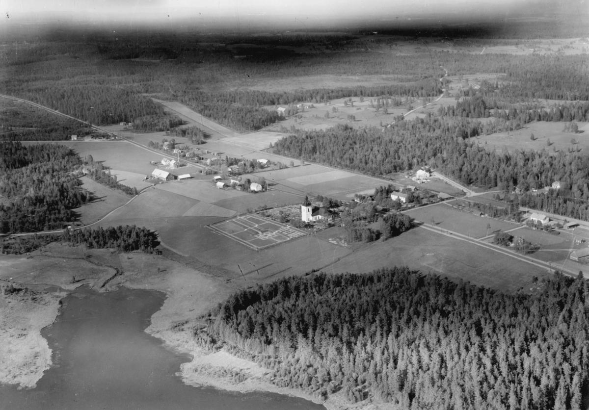 Flygfoto över Byarum i Vaggeryds kommun. Nr. L  662