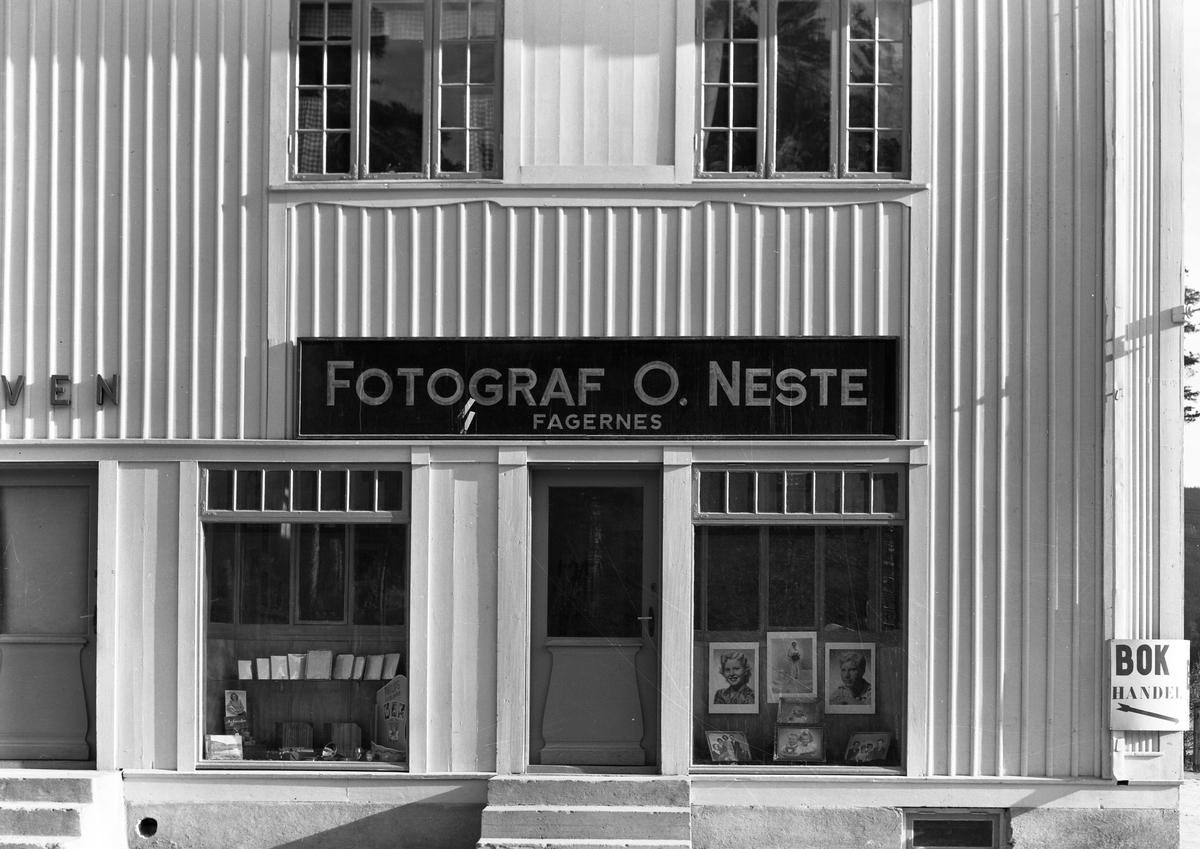 Butikken til fotograf Neste på Fagernes, Nord-Aurdal.