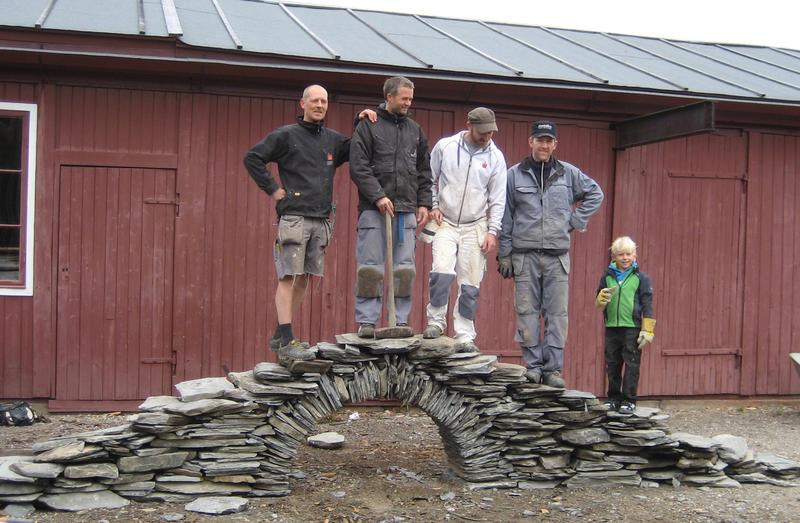 Muring av hvelv beskjært (Foto/Photo)