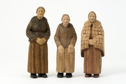 Efter dagens slit - Tre kvinnor  [Skulpturgrupp]