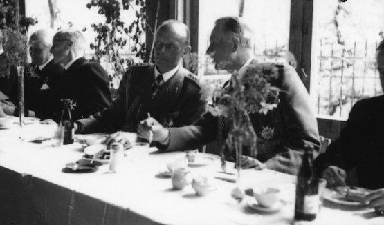 Jubileum 50 års, A 6. Lunchen i marketenteriet.