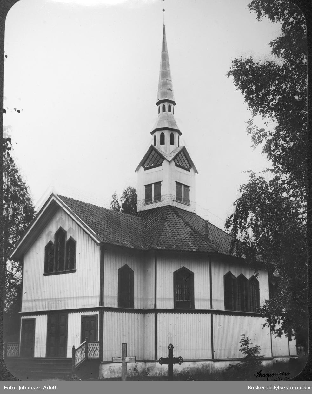 Hval kirke i Ådalen Hval kirke er en enskipet oktogonal sentralkirke i laftet tømmer fra 1862 og ligger på Hallingby i Ytre Ådal, i Ringerike kommune, Buskerud. Kirken er sognekirke i Ådal prestegjeld, som ligger i Ringerike prosti.
