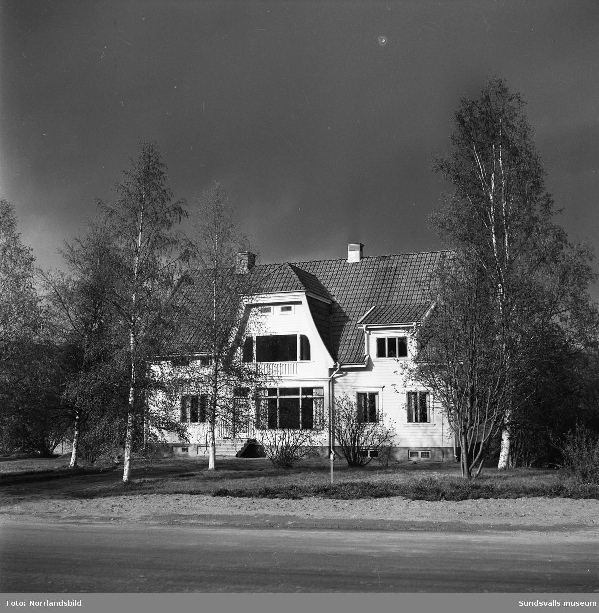 Hammarforsens Kraft, kontoret i Hammarstrand.
