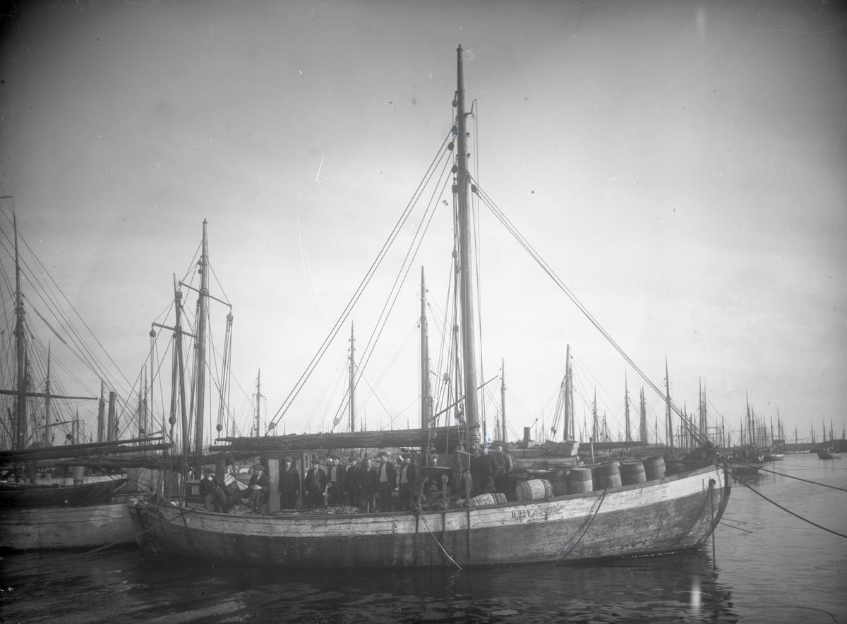 Fiskeskøyte Reg. R224