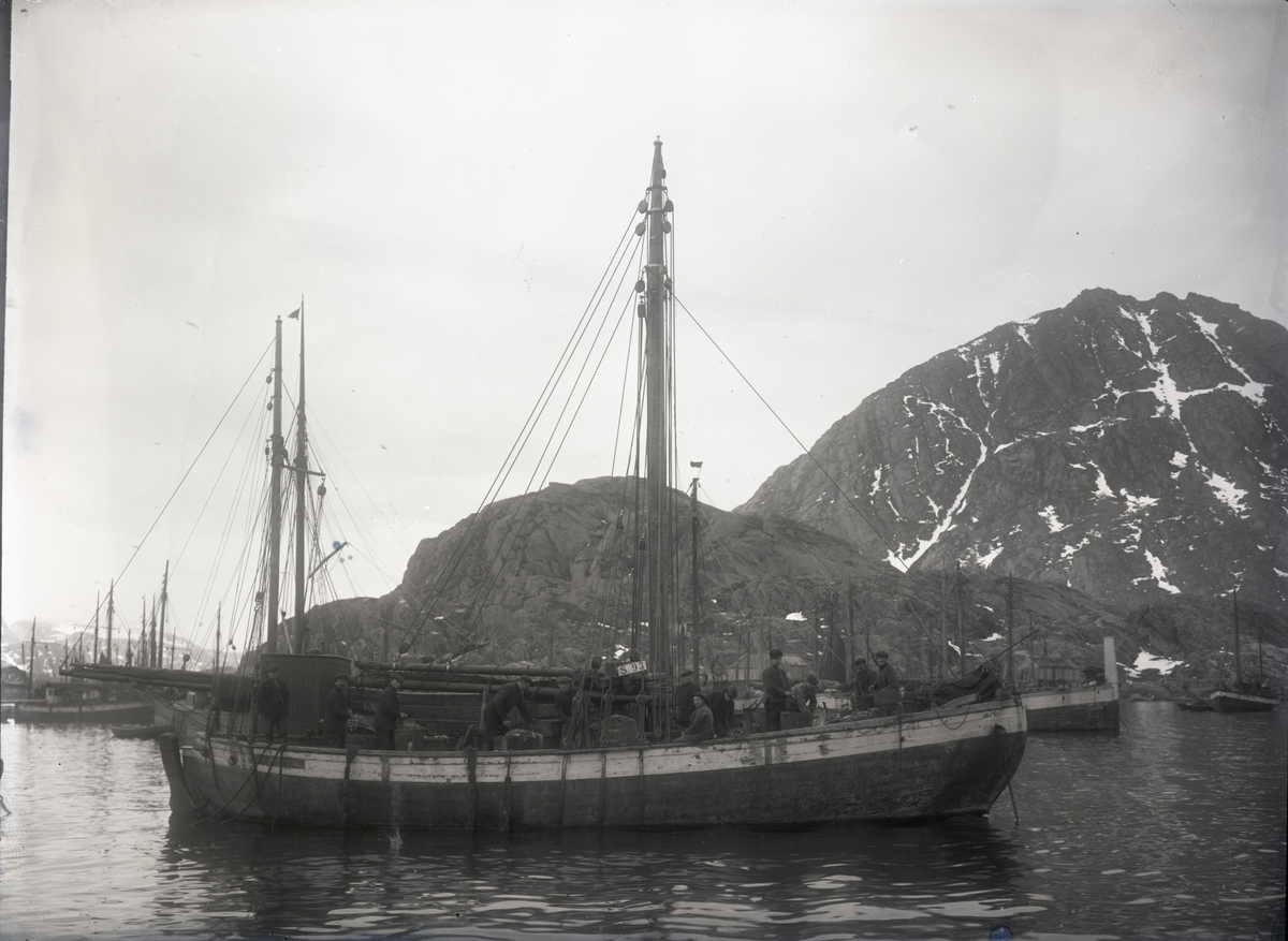 Fiskeskøyte Reg. S93