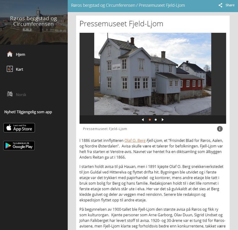 Fjeld-Ljom på Kulturpunkt. Foto/Photo