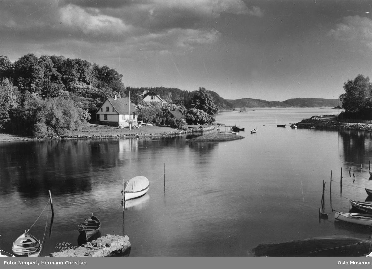 sund, fjord