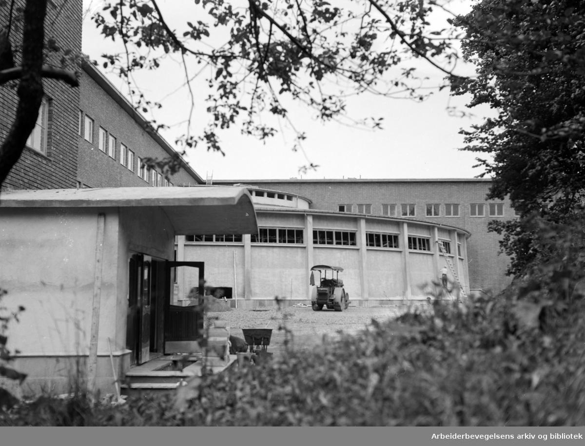 Marienlyst skole. September 1955