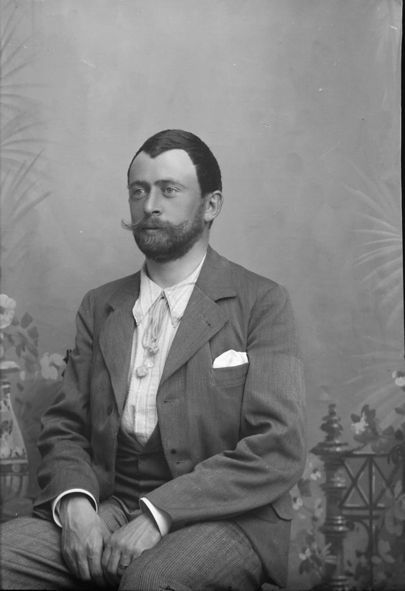 Portrett av Løitnant Lund.