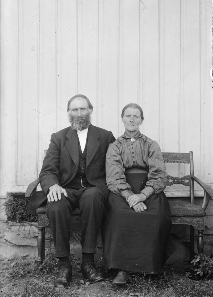Portrett av mann og kvinne