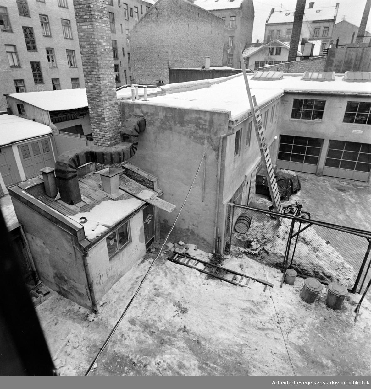 Københavngata 15. Februar 1961