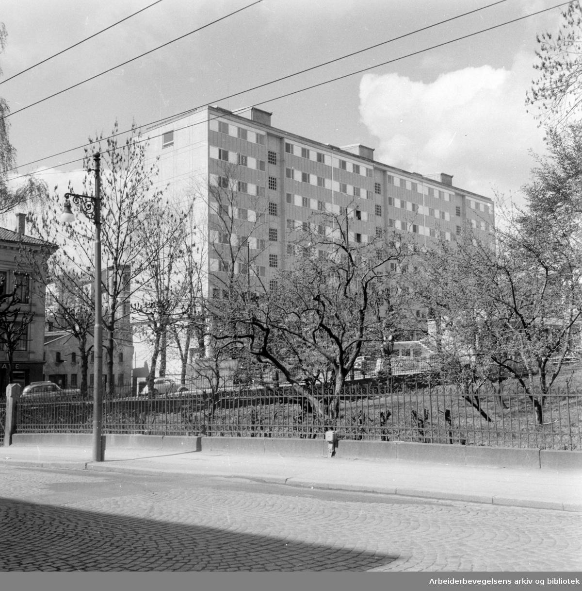 Hegdehaugsveien 36. Mai 1957