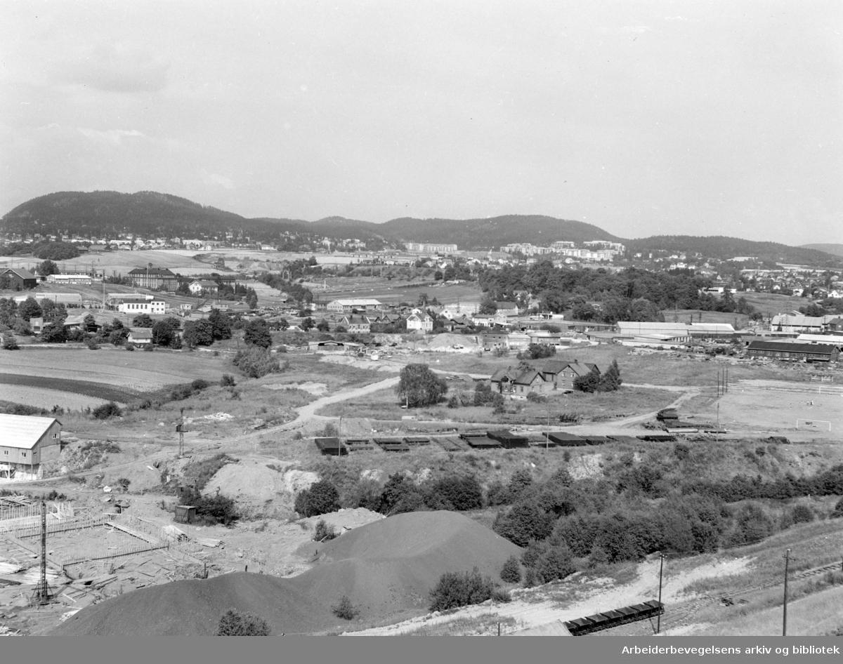 Hasle. Haslelund. August 1955