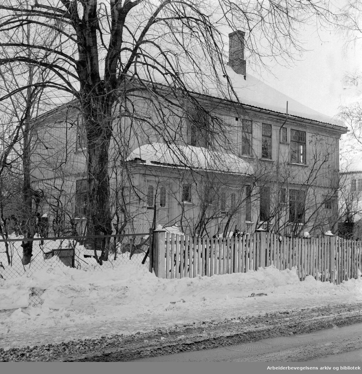 Fridtjof Nansens vei 22. Februar 1967