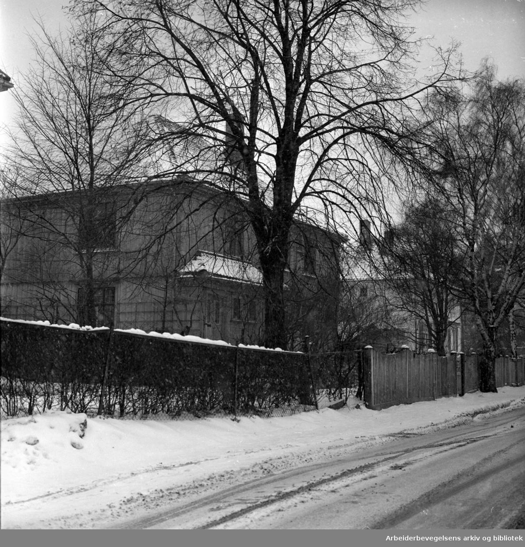 Fridtjof Nansens vei 24. Desember 1966