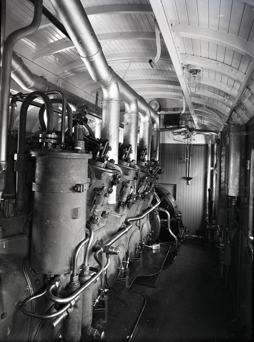 Diesel-elektrisk vagn för HNJ.