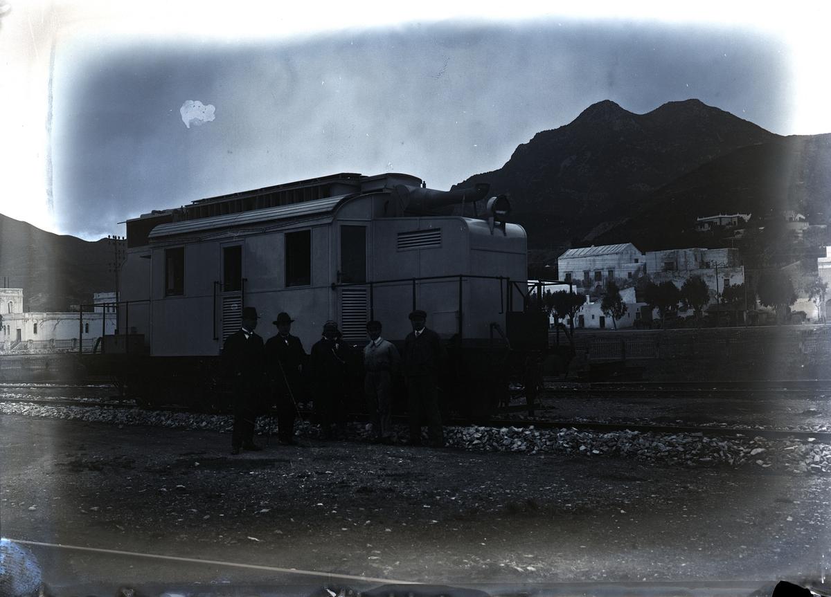 Lokomotiv för CFT, Tunisien.