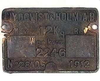 Panna Nº 2246  Modell/Fabrikat/typ: Mässing