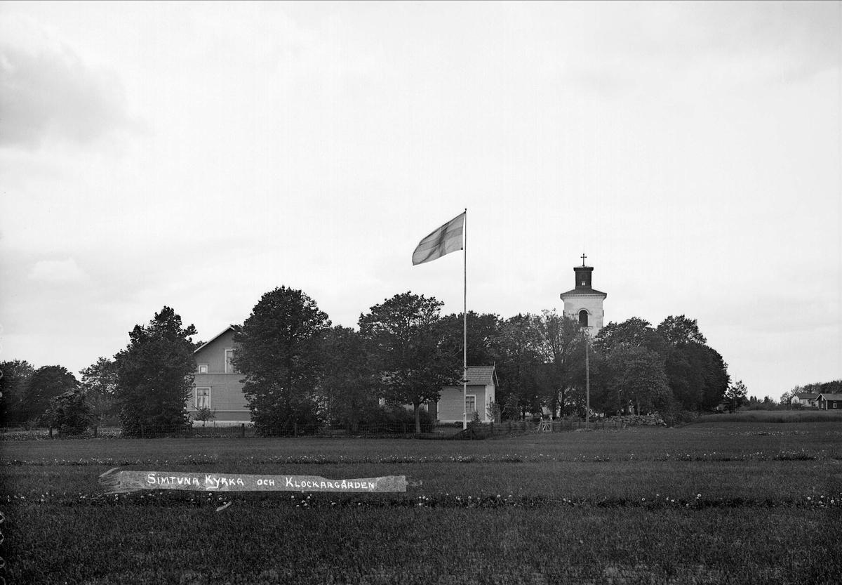 Klockargården i Simtuna, Uppland 1920