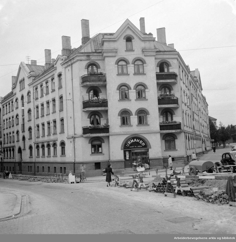 Åkebergveien 50. September 1951