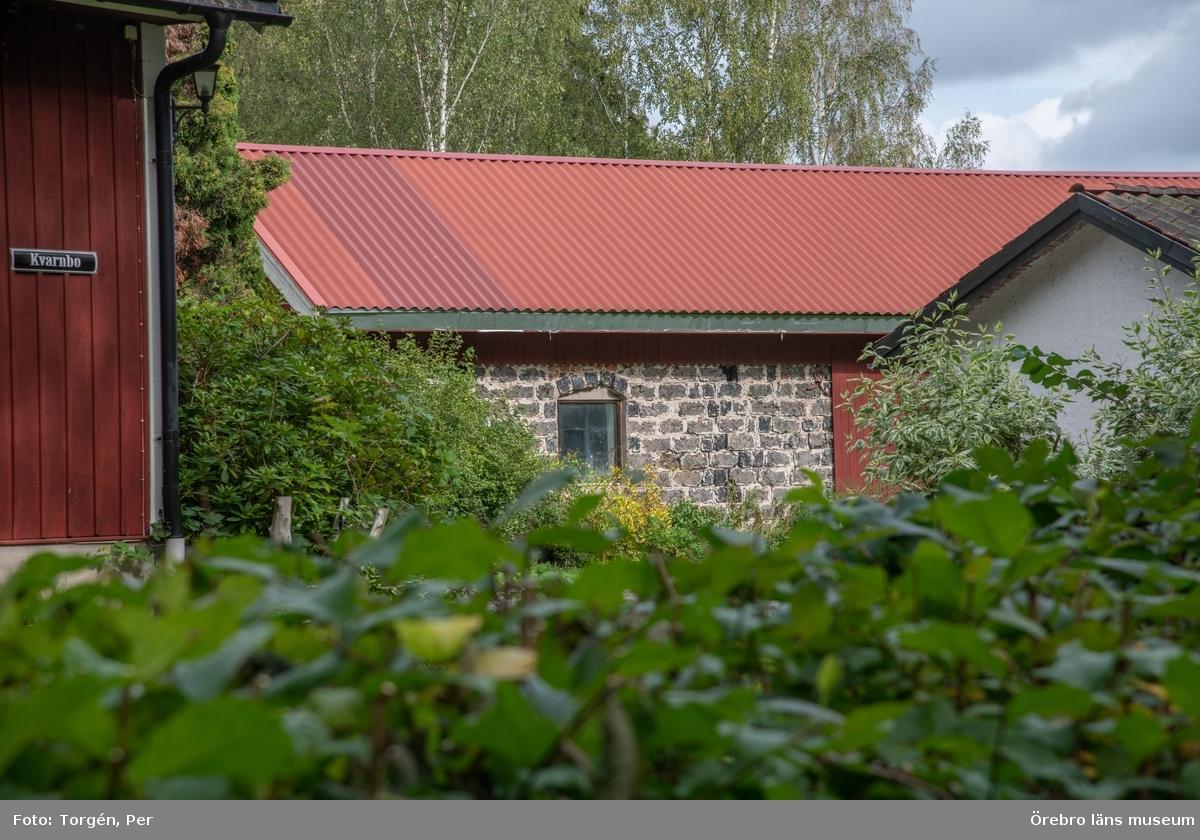 Foto dokumentation av området kring Järle kvarn 2018-08-23