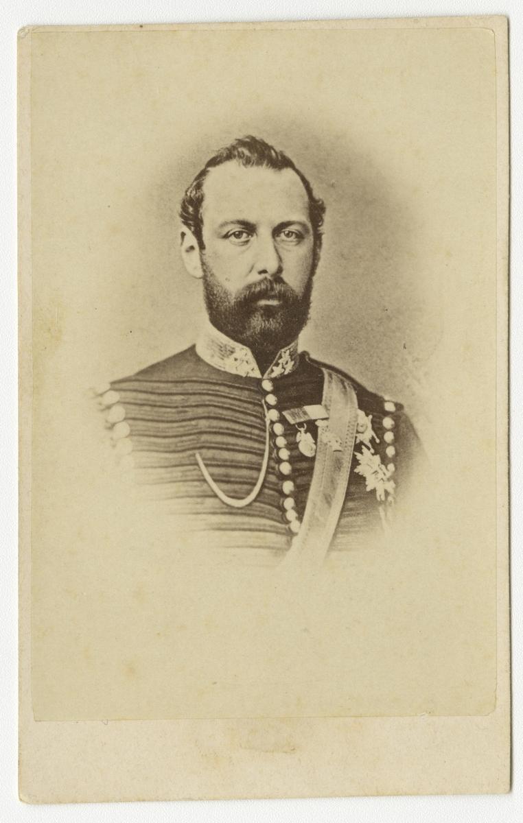 Porträtt av kung Karl XV.