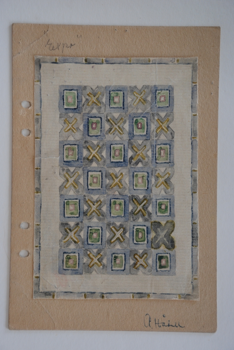 Förslag till ryor komponerade av Anna Hådell.