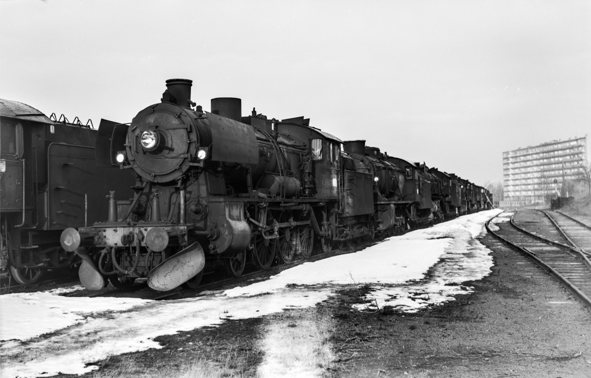 Damplokomotiv type 30c nr. 469 i Lodalen i Oslo.