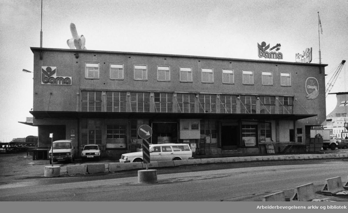 Banan-Mathiessen. Bama. Mars 1984