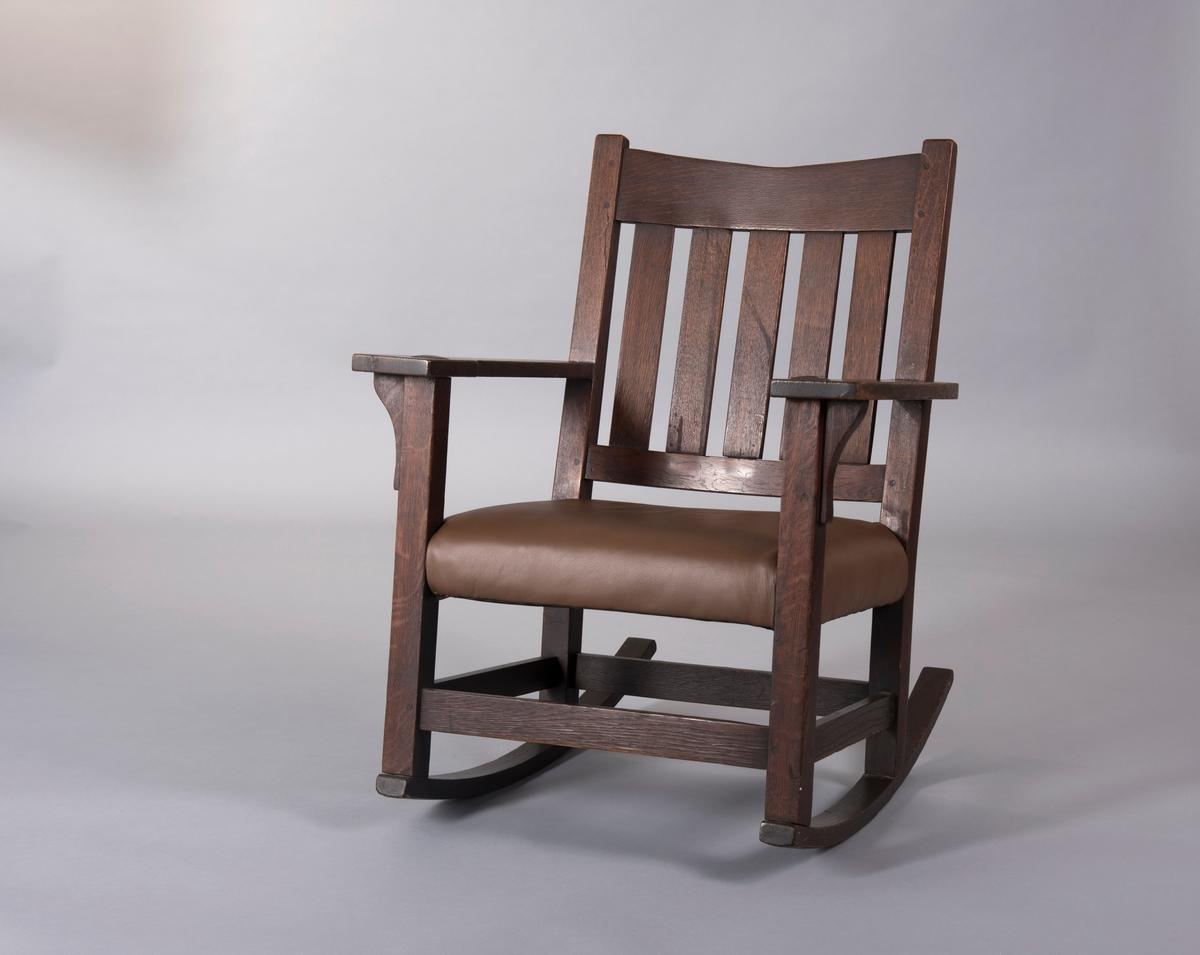 48 Chair [Armstol] Drammens Museum DigitaltMuseum