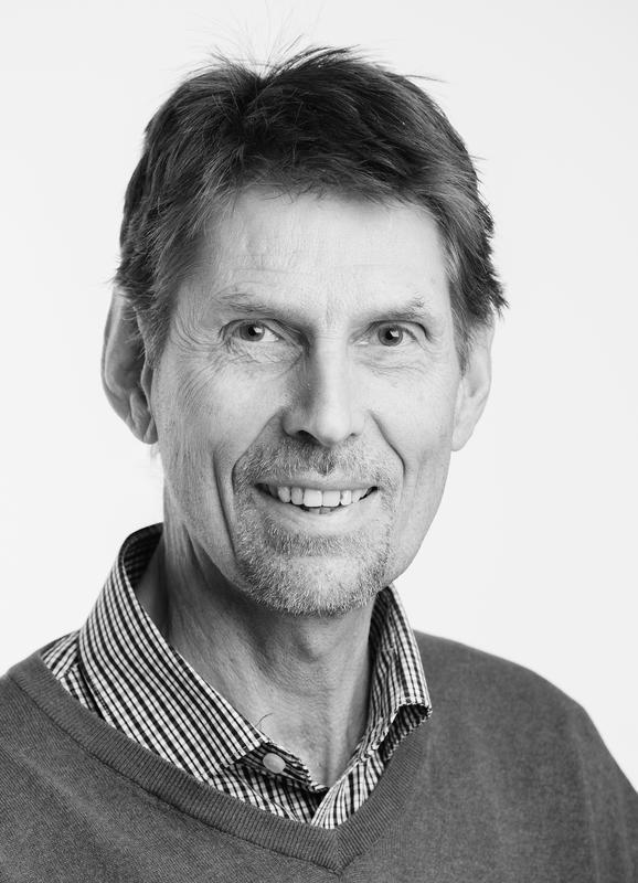 Biolog Ingvar Spikkeland ved Kanalmuseet
