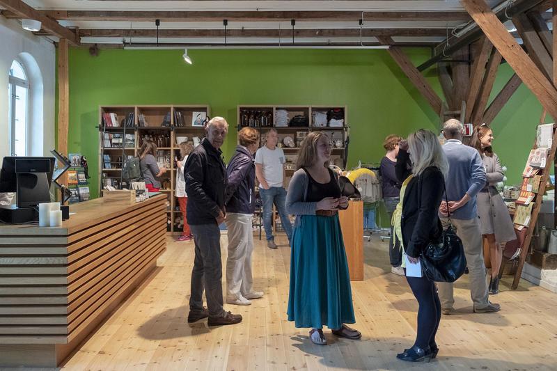 Museumsbutikken på Fredrikstad Museum i Tøihuset, Gamlebyen.